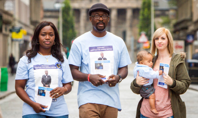 Sheku's sister Kadi Johnson, his  brother-in-law Ade Johnson and his partner Collette Bell will meet with the Lord Advocate.