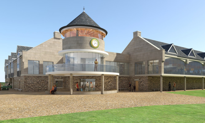 An artist's impression of how the upgraded centre would look.
