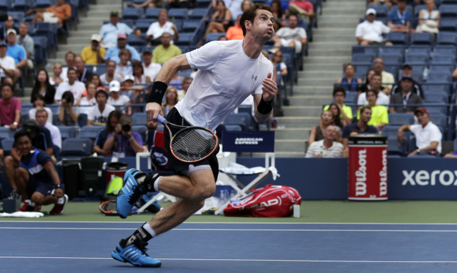 Andy Murray had to endure a punishing workout to get past Adrian Mannarino.