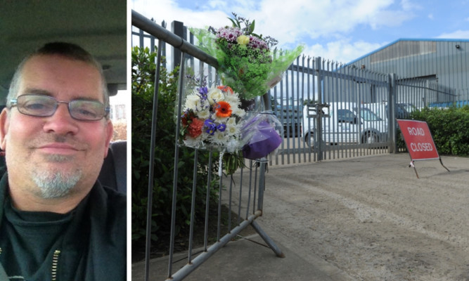 Ian Bratchie was killed in an accident at the Purvis Group industrial site in Lochgelly.