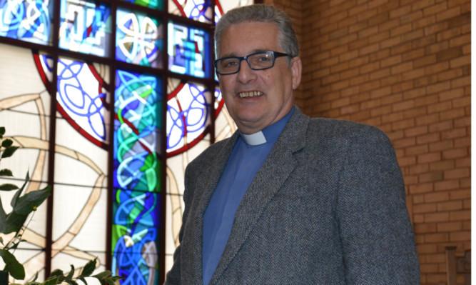 The Rev Iain Greenshields.