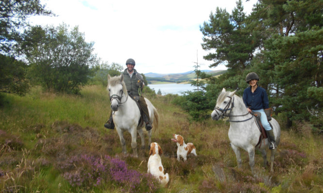 Stewart Miller and Jo Chapman Campbell will begin their journey from Glencoe.