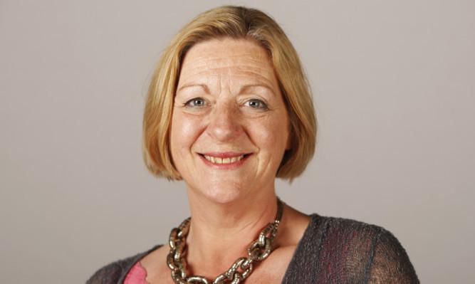 SNP MSP Linda Fabiani.
