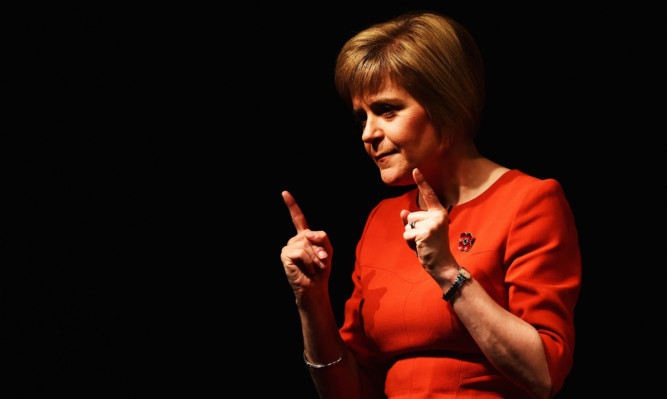 Nicola Sturgeon said the timescale for a second possible will be set out in her party's manifesto.