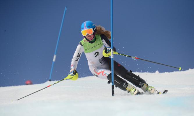 Charlie Guest has established herself as Britains number one slalom skier.