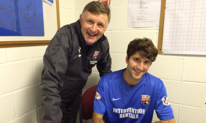 Paul Hegarty with Adrian Mallagaray.