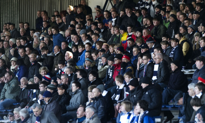 The Dens P_ark club will give away tickets for the home match against Ross County.