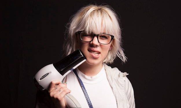 A broken hairdryer gets a reveller free entry to a recycling themed club night.