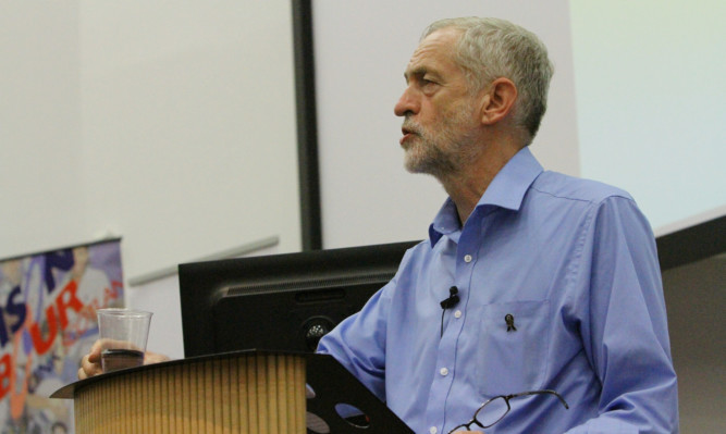 Hundreds attended Jeremy Corbyn's speech in the city last month during his leadership campaign.