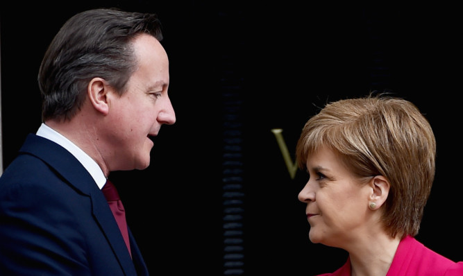 Are David Cameron and Nicola Sturgeon heading for another head on clash over independence?