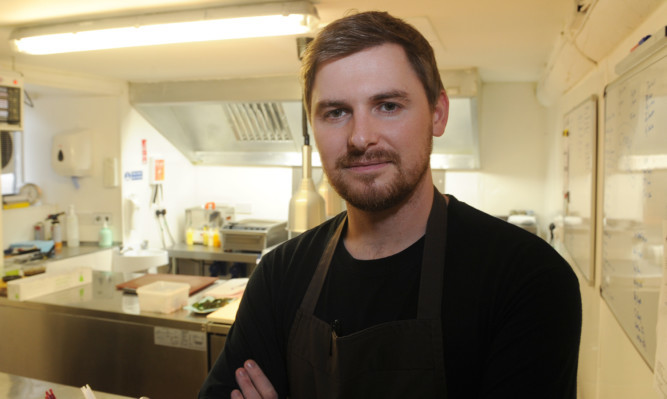 Anstruther chef Billy Boyter is celebrating after The Cellar was awarded a Michelin star in the latest guide.