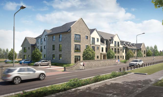 The development would comprise 41 apartments.
