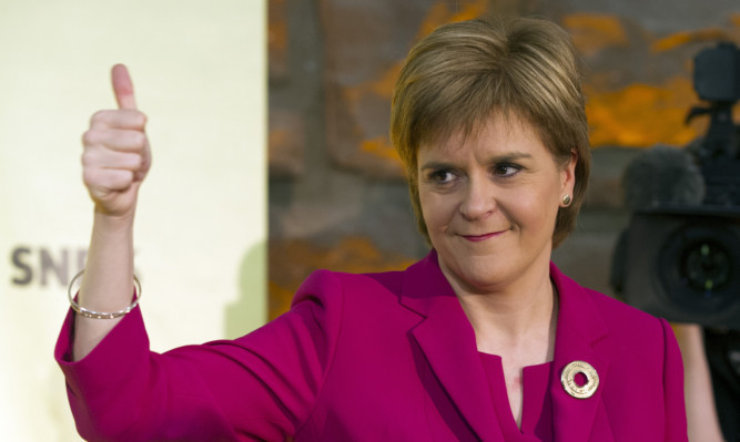 Nicola Sturgeon revealed her plans in a speech marking the anniversary of the independence referendum.