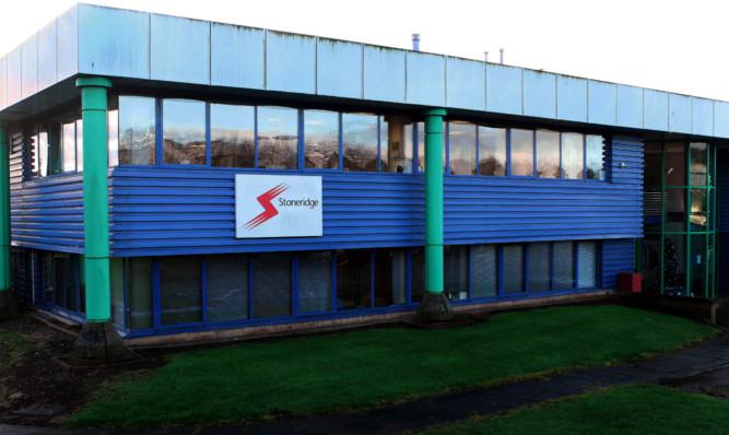Stoneridge Electronics plant at Charles Bowman Drive, Claverhouse Ind Est.