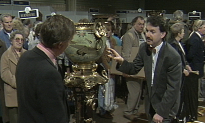 So, what's it worth...? A Perthshire man is celebrating his own Antiques Roadshow-style moment.