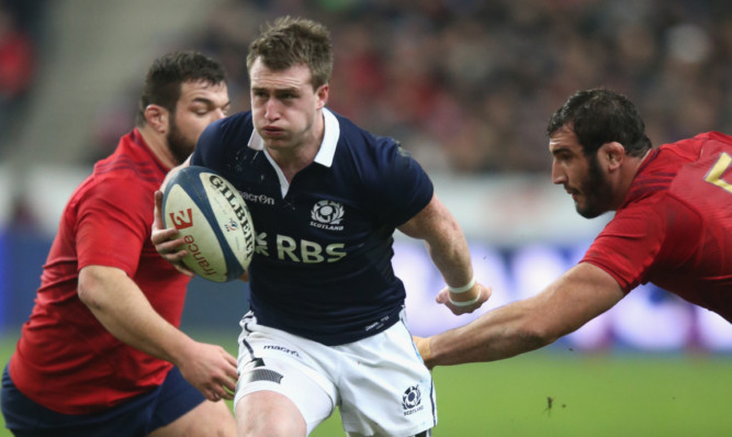 Stuart Hogg said he is eager to get going with Scotland's Rugby World Cpu campaign.