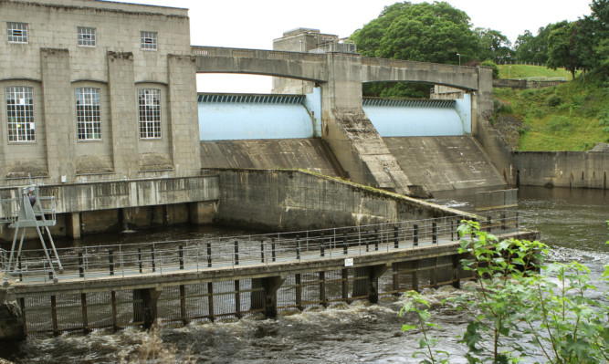 SSE wants to create a £4 million visitor centre at Pitlochry Dam.