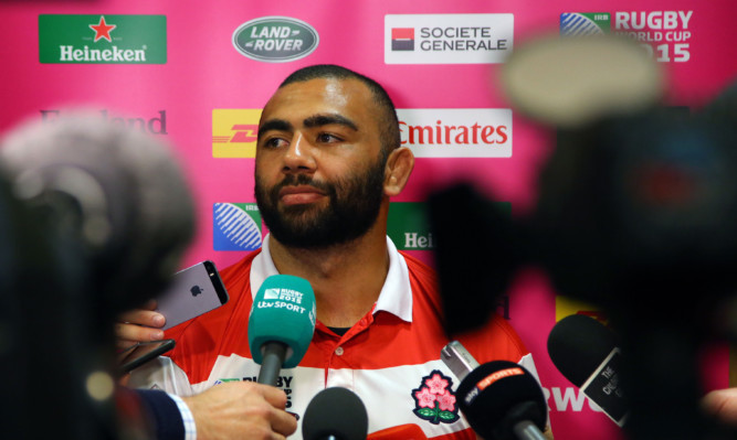 Japan captain Michael Leitch is targeting another win at the Rugby World Cup following the weekend victory over the Spingboks.