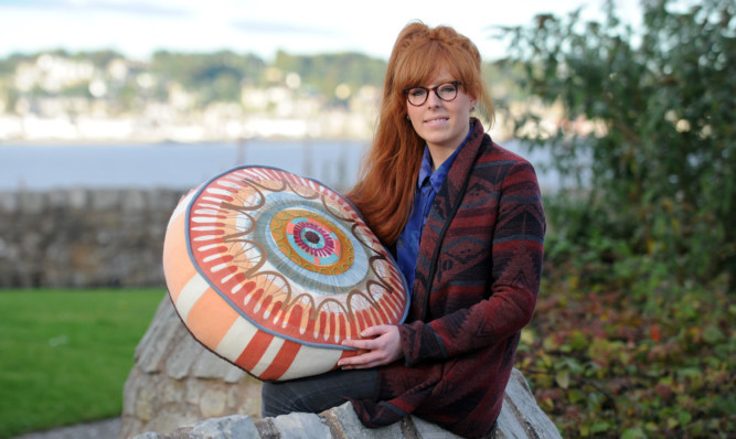 Cushion designer Kelly MacKay is one of those who will be exhibiting at the new festival.