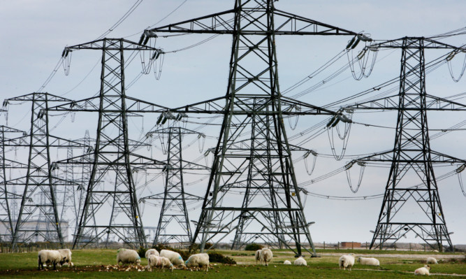 The electricity pylon network brings power to millions of homes across the UK. Picture: PA.