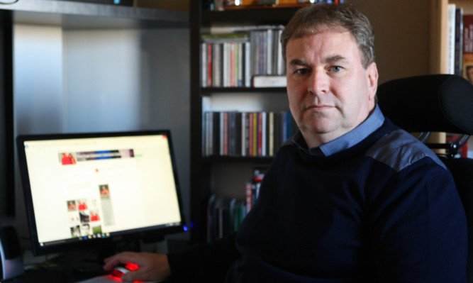 Patrick Kelly believes the announcement of his standing and the hacking are linked  and fears he is being targeted by supporters of other parties.