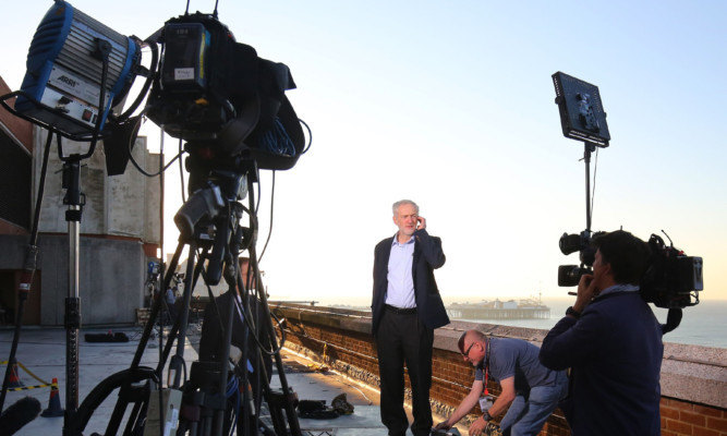 Jeremy Corbyn has been involved in a round of media interviews as the Labour conference draws to a close.