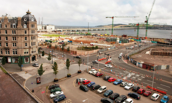 Dundees evolving waterfront will celebrate the old with the new.