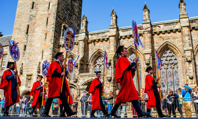 St Andrews University has enjoyed a huge leap in the rankings.