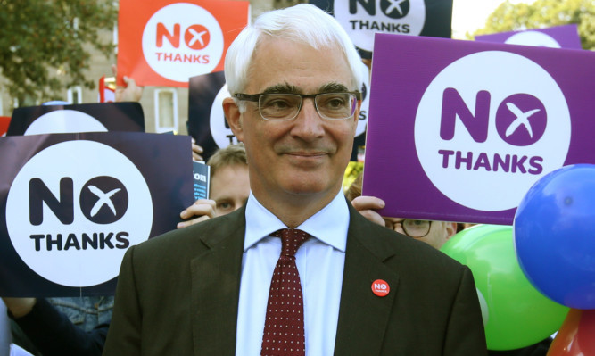 Labour's Alistair Darling led the Better Together campaign.