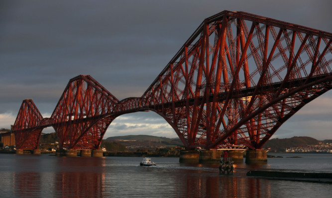 The Forth Bridge has been voted top of the poll.