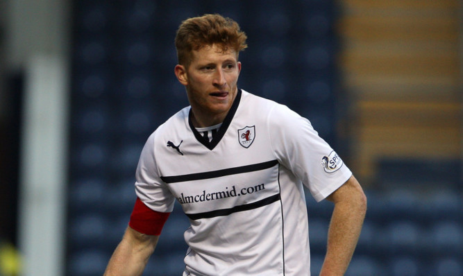 Jason Thomson said Raith showed great character to push on and get the winner against Morton.