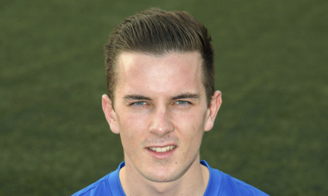 Graham Webster: five goals in six games for Montrose.