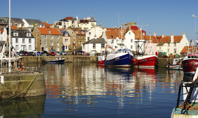 It is hoped the survey will help boost visitors to places like Pittenweem Harbour.