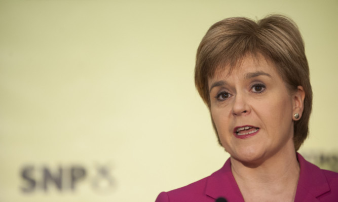 SNP leader and First Minister Nicola Sturgeon said she will be arguing her own partys case for remaining in the European Union.