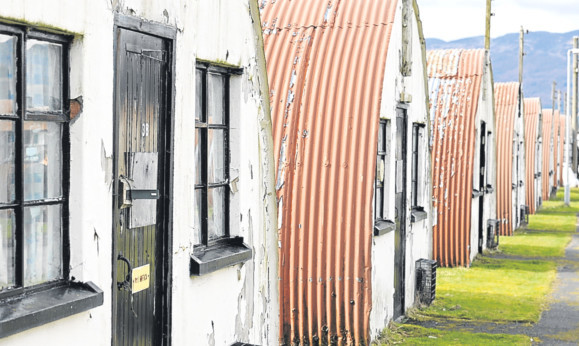 Kim Cessford - 28.03.14 - FOR FILE - pictured is the Cultybraggan POW camp, Comrie