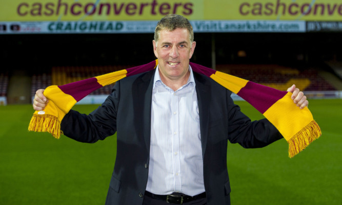 Mark McGhee is unveiled as Motherwell manager at Fir Park.
