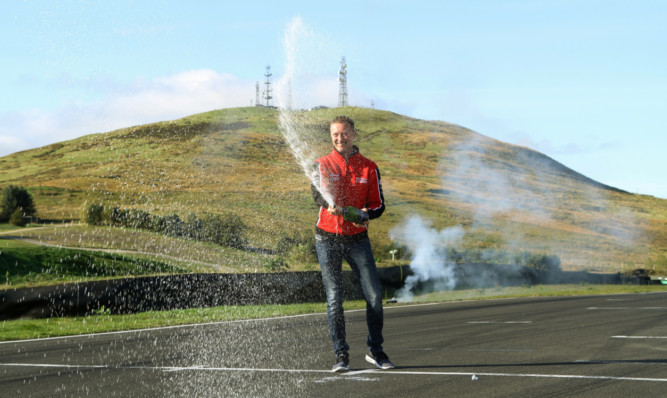 Shedden is more used to creating fireworks on the track.