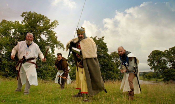 Re-enactment enthusiasts are encouraged to come in costume.