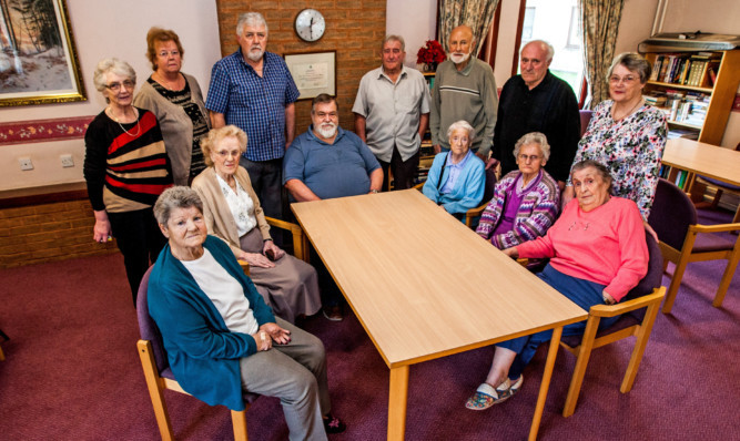 Jubilee Court residents are unhappy about changes to Angus Council wardens.