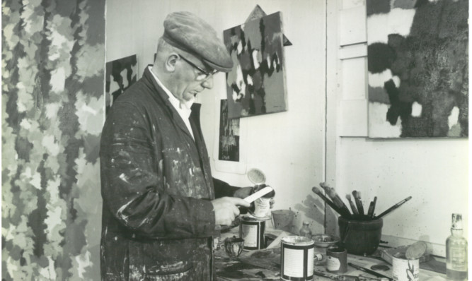 William Gear has been described as one of the greats of British abstract art.