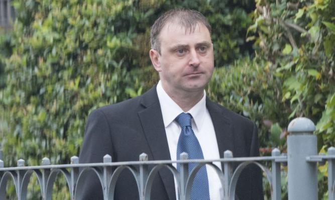 Ewan Stark at Dundee Sheriff Court .