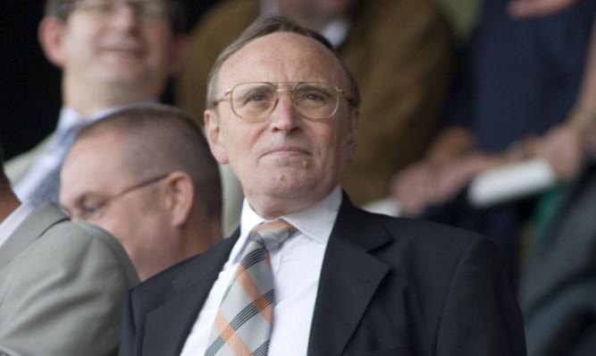 Former Dundee United chariman Eddie Thompson.