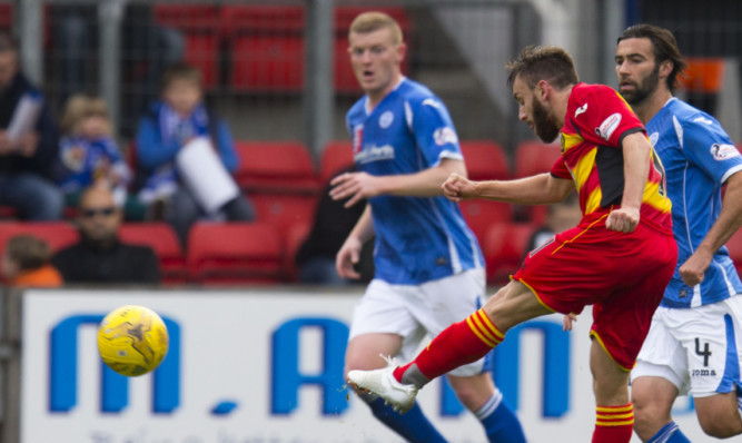 One of the goal of the season contenders from Thistle.