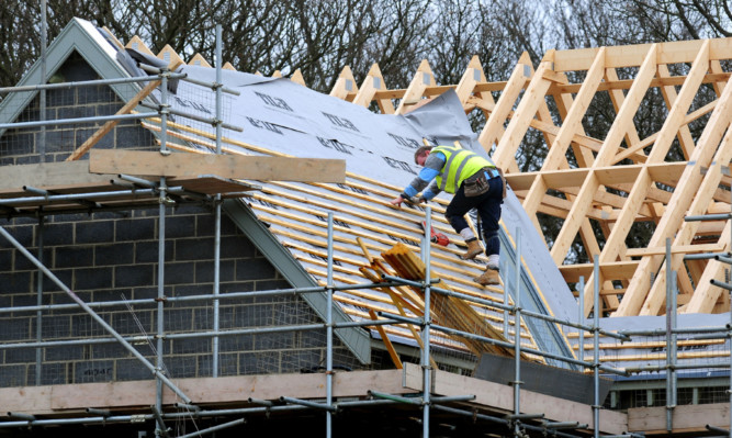 Scotland is crying out for more construction workers like this tradesman.