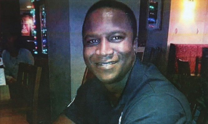 Sheku Bayoh died in Kirkcaldy after he was detained by police officers.