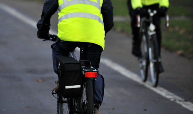 Dundee trails other towns and cities in the number of residents using bikes.