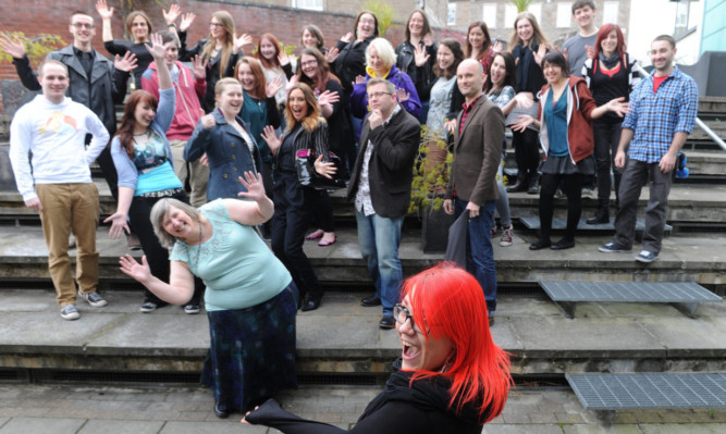 Scottish Women in Games supporters at the DCA last week.