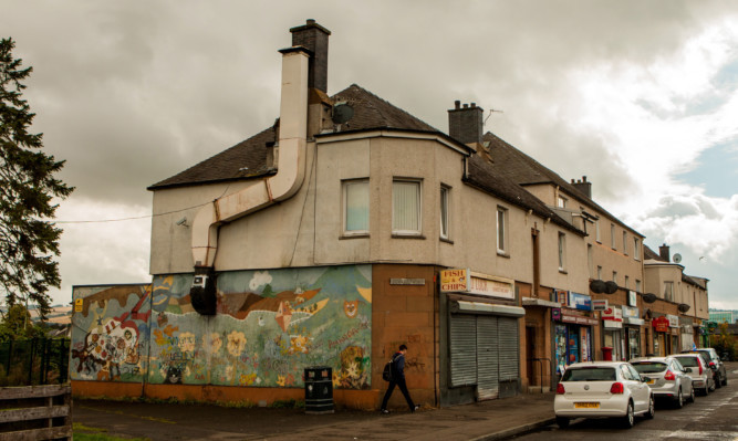 Shops on Dunkeld Road in Perth are to be redeveloped.
