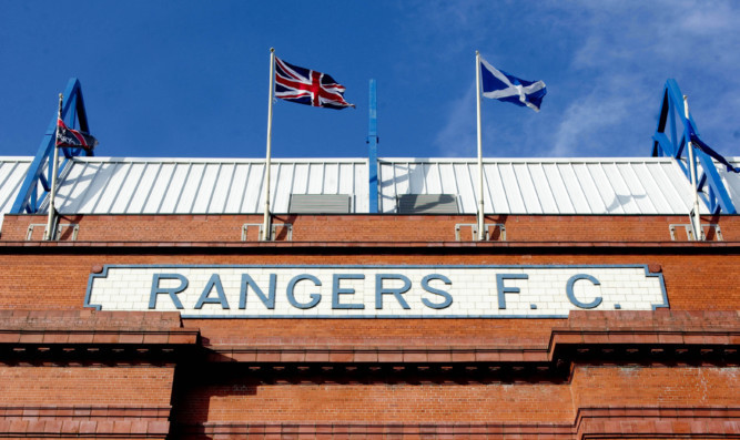 29/03/12  IBROX - GLASGOW GV of Ibrox Stadium, home of Rangers FC
