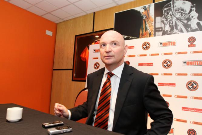 Dundee United chairman Stephen Thompson.